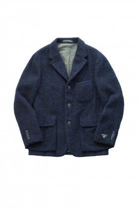 Nigel Cabourn - MODIFIED MALLORY JACKET WASHABLE WOOL - NAVY
