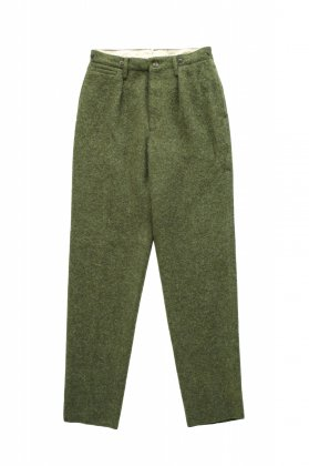 Nigel Cabourn - MEDICAL PANT WASHABLE WOOL - OLIVE