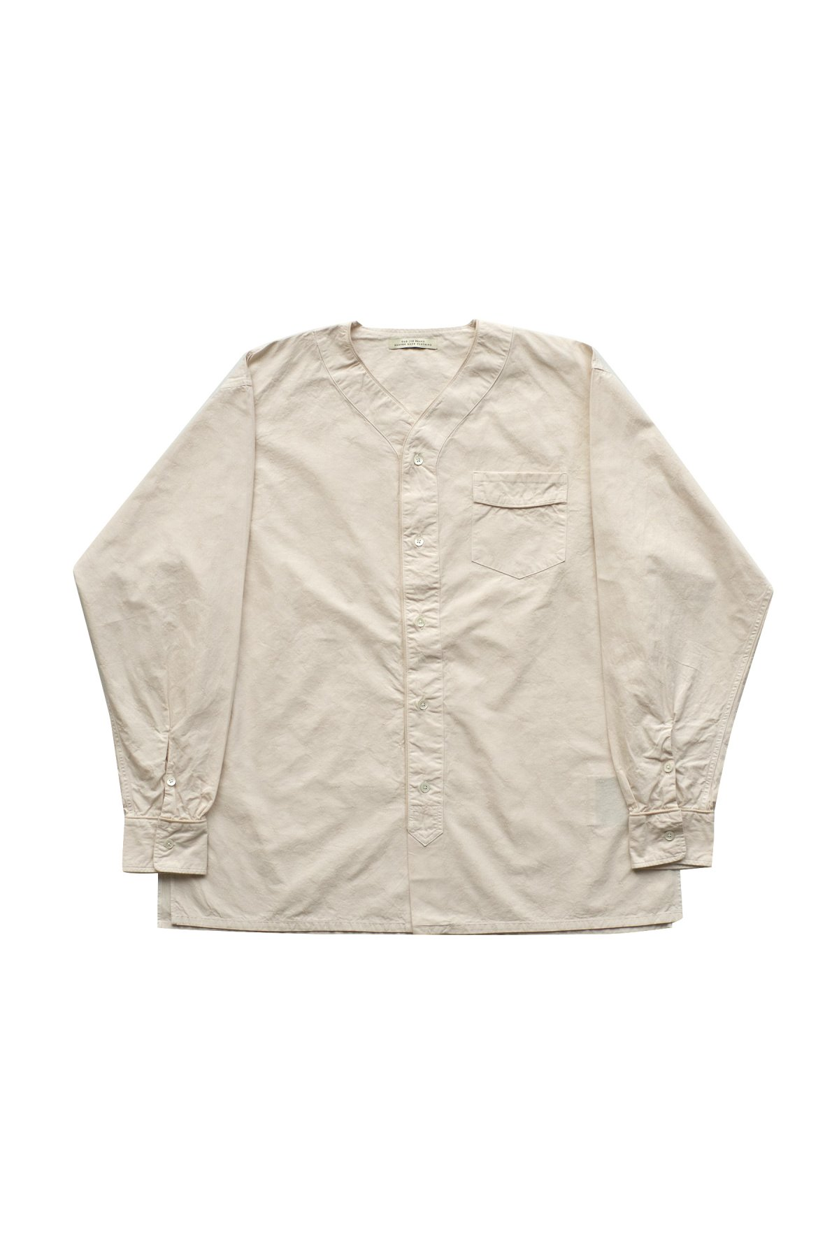 OLD JOE - SLEEPING NECK SHIRTS - BONE - PRICE 28,600 tax-in