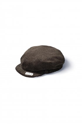 OLD JOE - ONE-PIECE TOP PEAKED CAP - ESPRESSO