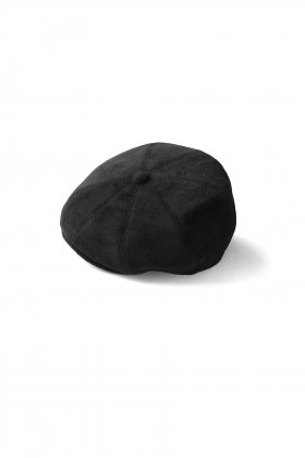 OLD JOE - EAR GUARD PEAKED CAP - BLACK