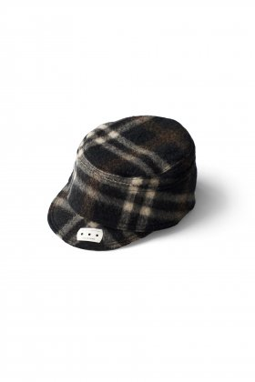 OLD JOE - MINER CAP - BLACK PLAID