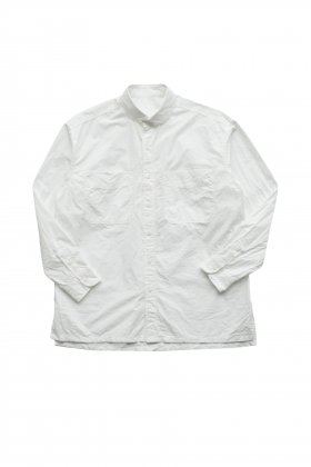 Porter Classic - WIDE POCKET SHIRT - WHITE