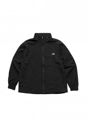 Porter Classic - SUPER NYLON STRETCH ZIP UP JACKET - BLACK