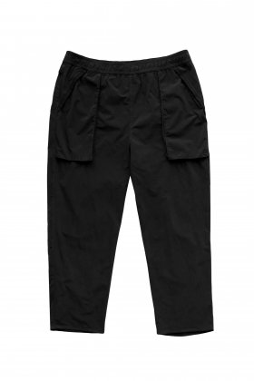Porter Classic - SUPER NYLON STRETCH PANTS - BLACK