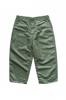 Porter Classic - SUPER NYLON MASH WIDE PANTS - OLIVE