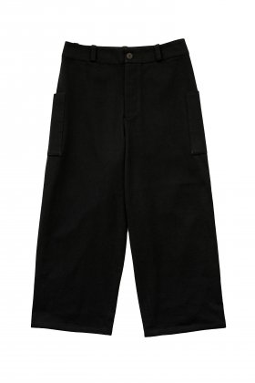 toogood - THE CONDUCTOR TROUSER - WOOL COTTON DRILL - FLINT