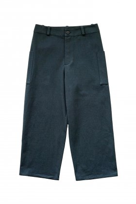 toogood - THE CONDUCTOR TROUSER - WOOL COTTON DRILL - NIGHT