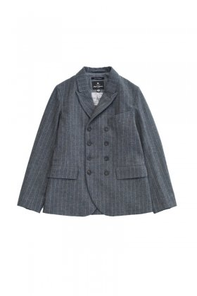 Nigel Cabourn - DB JACKET - GRAY STRIPE