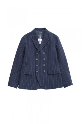 Nigel Cabourn - DB JACKET - NAVY STRIPE