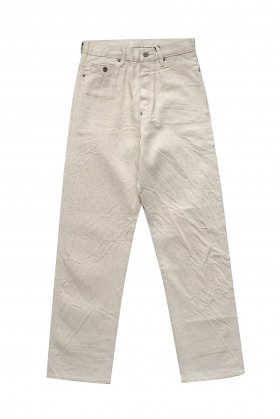Nigel Cabourn - 4 POCKET JEANS (12oz) - ECRU