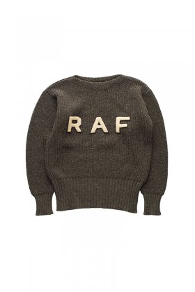 Nigel Cabourn - R.A.F SWEATER - DARK OLIVE