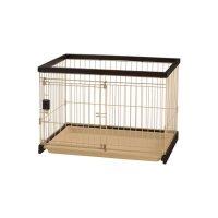 Richell(リッチェル) 木製お掃除簡単ペットサークル 90-60 超小型犬・小型犬用 【送料無料・同梱不可】