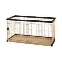 Richell(リッチェル) 木製お掃除簡単ペットサークル 120-60 超小型犬・小型犬用 【送料無料・同梱不可】