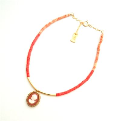 Vintage Cameo  Anklet #E-228