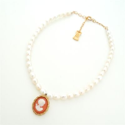 Vintage Cameo  Anklet #E-230