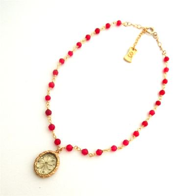 Vintage Cameo  Anklet #E-234
