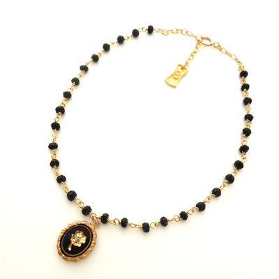Vintage Cameo  Anklet #E-264