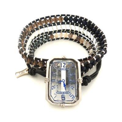 Vintage Intaglio Wrap Bracelet #E-262