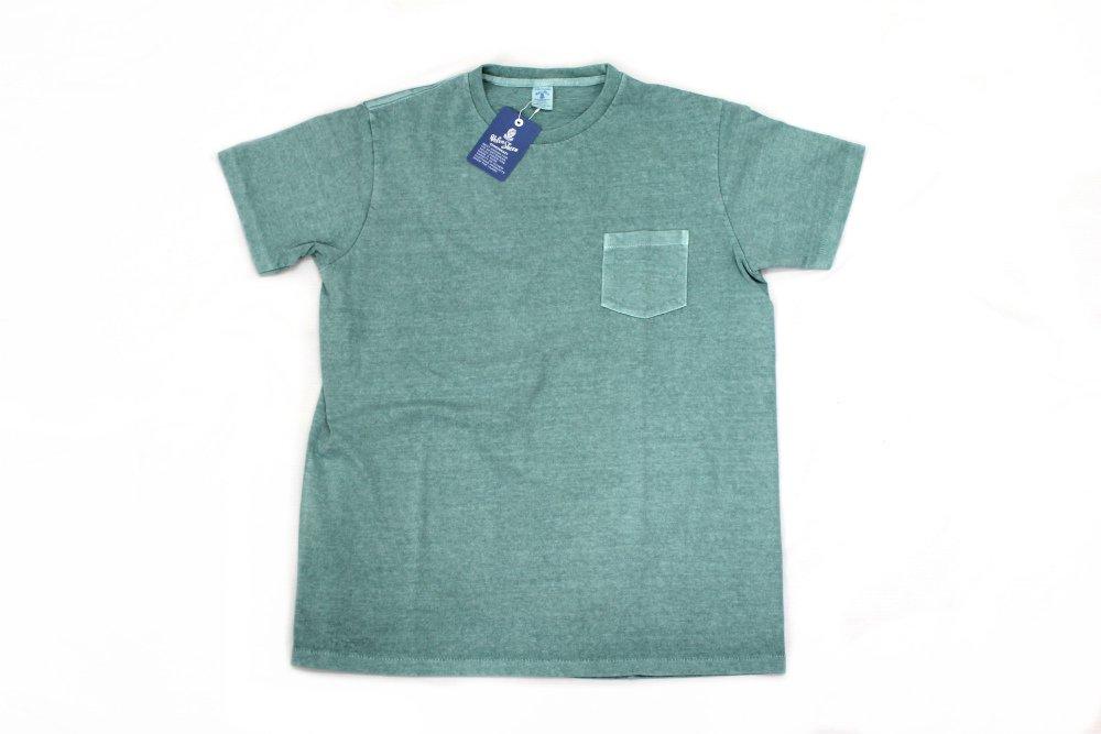 Velva Sheen Pigment Dye Crew Neck T-Shirts  MINT