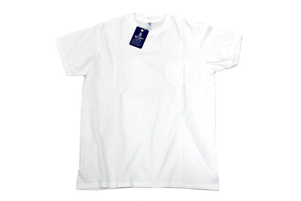 Velva Sheen Crew Neck T-Shirts  WHITE