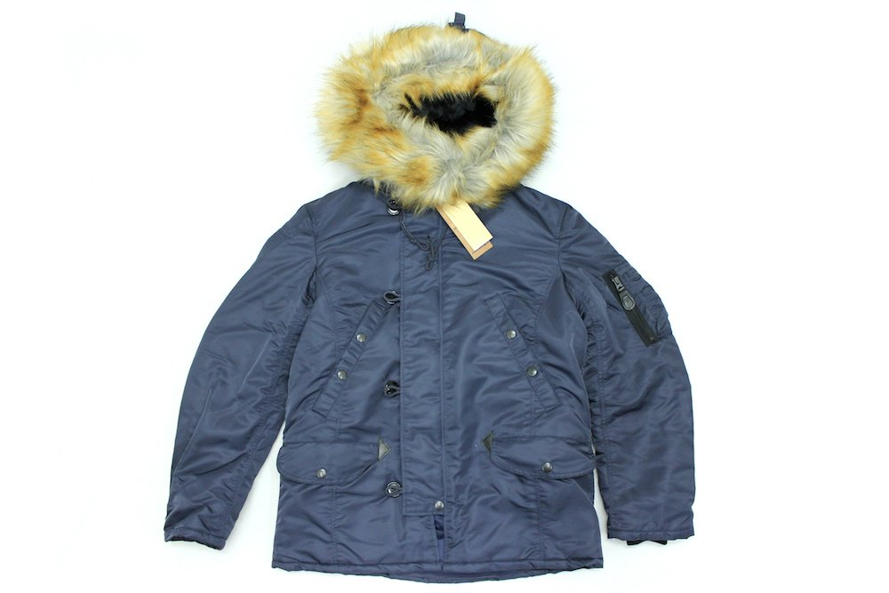【UNITED CARR】 N-3B WINDPROTEX TINY フライトジャケット Col.NAVY