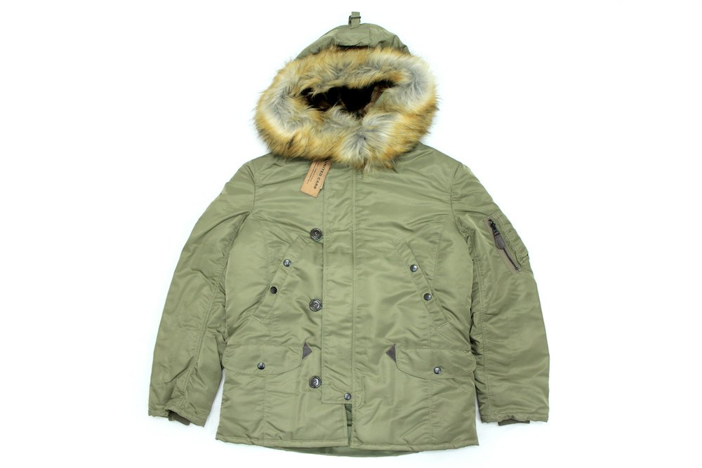 【UNITED CARR】 N-3B WINDPROTEX TINY フライトジャケット Col.OLIVE