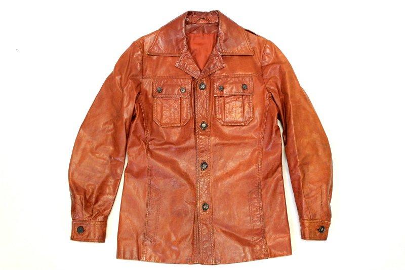 70's ヴィンテージ レザージャケット 極上革