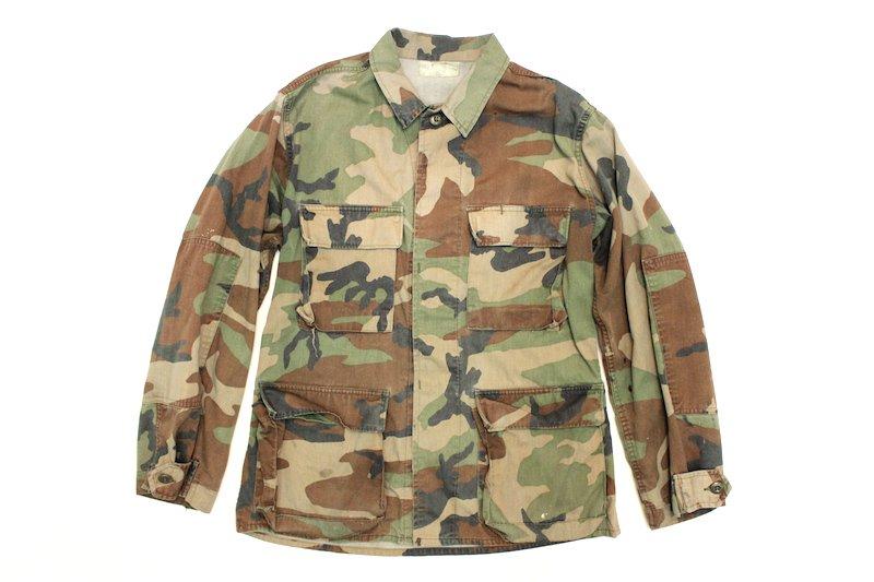 80's U.S.ARMY ミリタリージャケット カモフラージュ