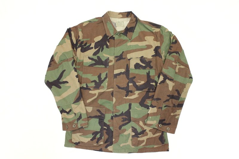 90's U.S.ARMY 米軍 ミリタリージャケット カモフラージュ 迷彩柄