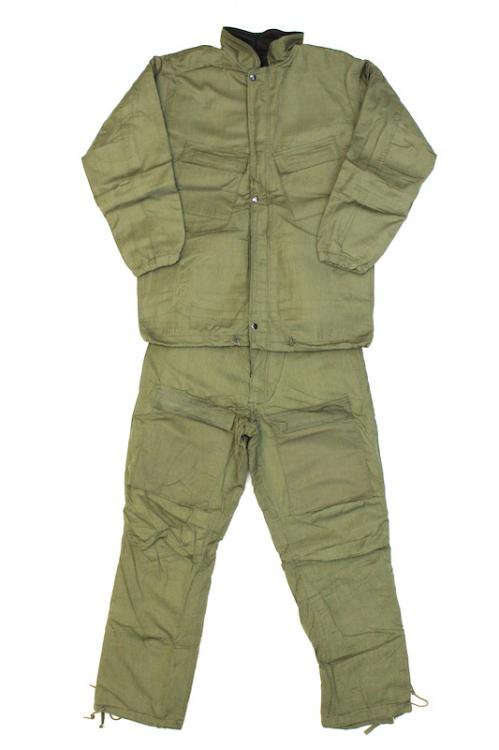 70's U.S.ARMY Chemical Protective Suit ケミカルプロテクティブスーツ セットアップ デッドストック SMAL…