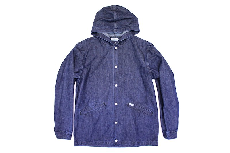 【SUGAR CANE LIGHT】10oz. NEP DENIM COACH JACKET ネップデニムコーチジャケット  Col.NAVY