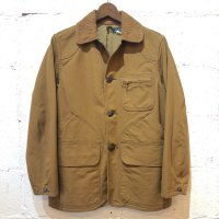 【SUGAR CANE】13oz. BROWN CANVAS HUNTING JAKET Col.BROWN