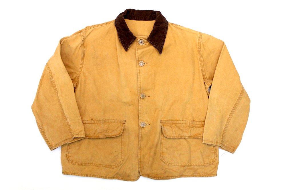 80's 【WESTERN FIELD】 ハンティングジャケット ダック地 L