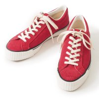 【WAREHOUSE & CO. / ウエアハウス】Lot.3400 SUEDE SNEAKER スウェードスニーカー [限定カラー RED]