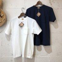 【WHITESVILL / ホワイツビル】S/S POCKET T-SHIRT  無地 半袖ポケットTシャツ