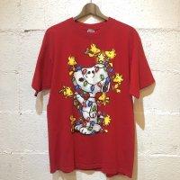 00's 【YAZBEK】スヌーピー プリントTシャツ L