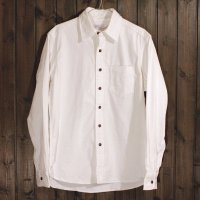 【Sunny & Co.】Lot.1209  8oz. L/S WHITE DENIM SHIRTS