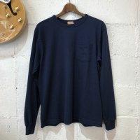 【WHITESVILL / ホワイツビル】L/S POCKET T-SHIRT  無地 長袖ポケットTシャツ