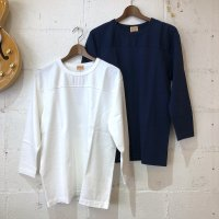 【WHITESVILL / ホワイツビル】FOOTBALL T-SHIRT  無地 7分袖 フットボールTシャツ