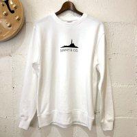 【Sunny & Co.】8.4oz. L/S クルーネックプリントスウェット