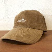 【Sunny & Co】Baseball Low Cap  -corduroy-