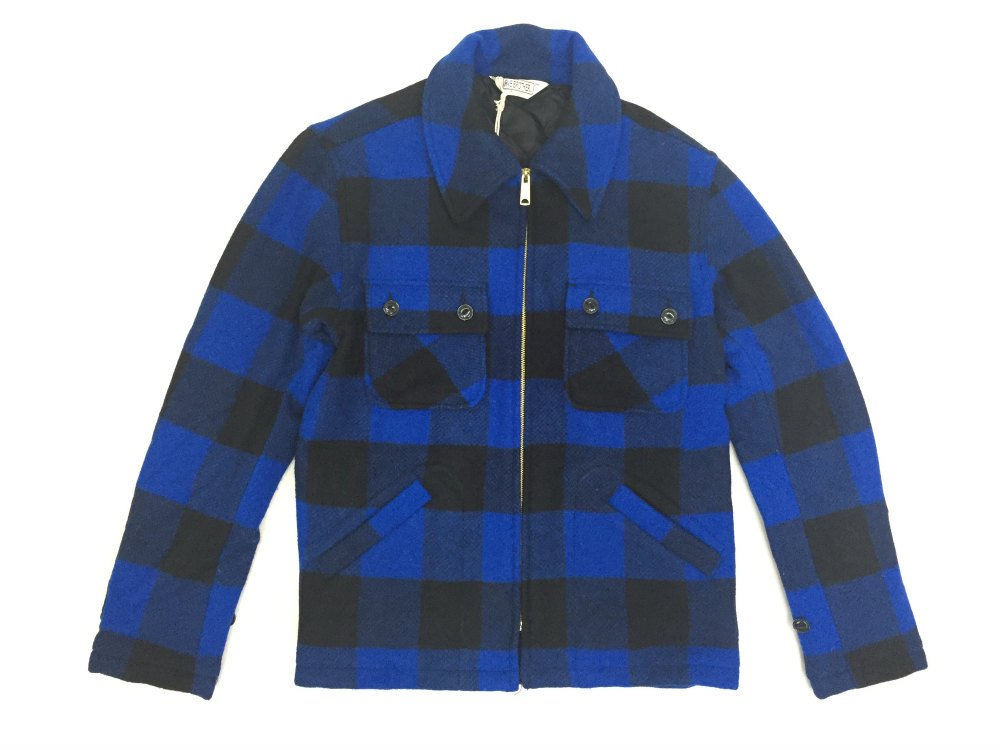 【FIVE BROTHER ファイブブラザー】AUTHENTIC ZIP C.P.O.  JACKET  BLUE