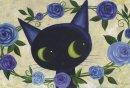 Ayumi ポストカード「Blue Rose Ring」