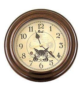 【送料無料】わちふぃーるど・猫のダヤンのWFレトロ掛時計