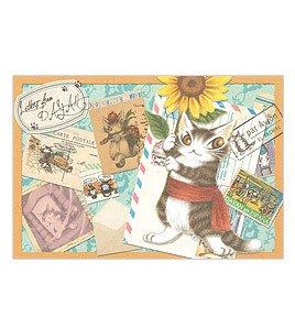 ダヤン わちふぃーるどのDAYANシリーズ!  猫のダヤンのポストカード 絵描き旅