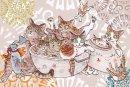 琴坂映理 ポストカード041 キジ猫