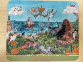 マウスパッド 猫の島に春が来た