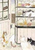 琴坂映理 ポストカード005 猫は魚を喰えども