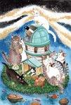 琴坂映理 ポストカード082 満天星観測所